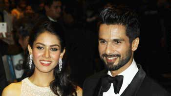 Shahid Kapoor, Mira Rajput's stunning wedding reception!