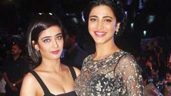 Sibling Love: Shruti & Akshara Haasan