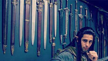 Siddharth Dons The Elf Look From The Lord Of The Rings