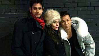 Siddharth Malhotra, Alia Bhatt clicked while holidaying together in New York