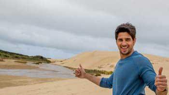 Siddharth Malhotra indulges in sand surfing in New Zealand
