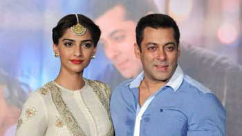 Sonam was Intimidated to work with Salman Khan