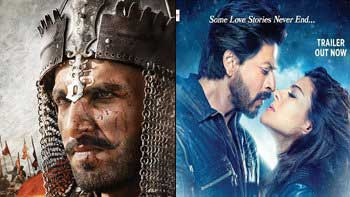 SRK & Bhansali are cool about the 'Bajirao Mastani'-'Dilwale' Clash