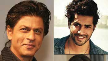 SRK Bonds With Varun & Kriti On 'Dilwale' Sets Over Games!
