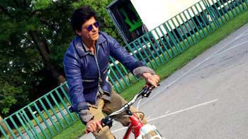 SRK Plans To Go Cycling In Bulgaria!