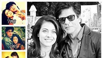 SRK Revisits His Cinematic Journey With Kajol