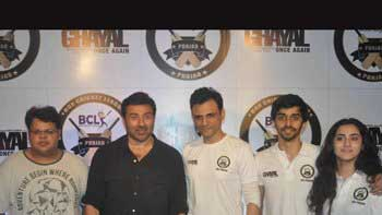 Sunny Deol enjoyed the promotion of 'Ghayal Once Again' with box cricket