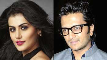 Taapsee Pannu, Riteish Deshmukh to star in 'Hunkaar'