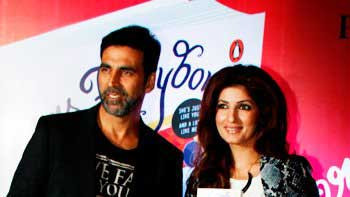 Twinkle Khanna unveils her book 'Mrs Funnybones'