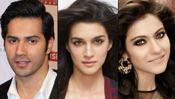 Varun & Kriti Excited To Share Screen Space With Kajol!