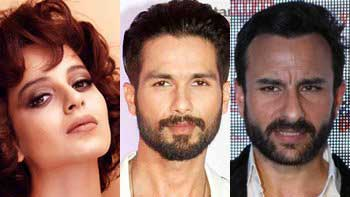Vishal Bhardwaj Roped In Kangana, Shahid and Saif To Star In 'Rangoon'