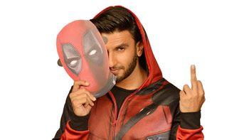 Ranveer Singh slays with his slangs in the Hindi dubbed version of Deadpool 2!