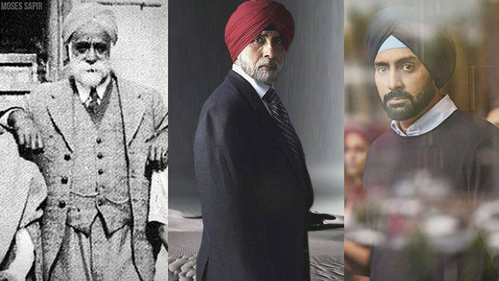 Abhishek explains his Sikh connection by sharing a beautiful picture of 3 generation of Bachchans!