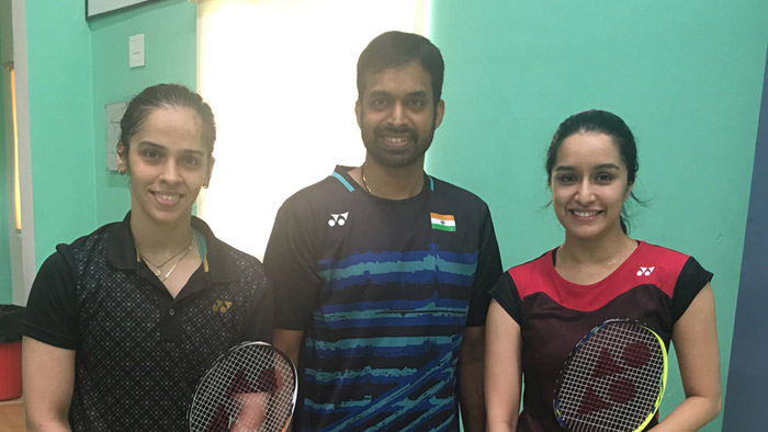 After being Haseena Parkar, Shraddha Kapoor is taking Badminton lessons from Saina Nehwal for her biopic!