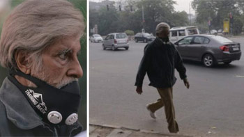 Amitabh Bachchan's look in the film Pink