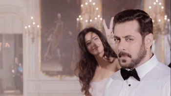 Are Salman Khan and Katrina Kaif filming a ballroom sequence for Tiger Zinda Hai?
