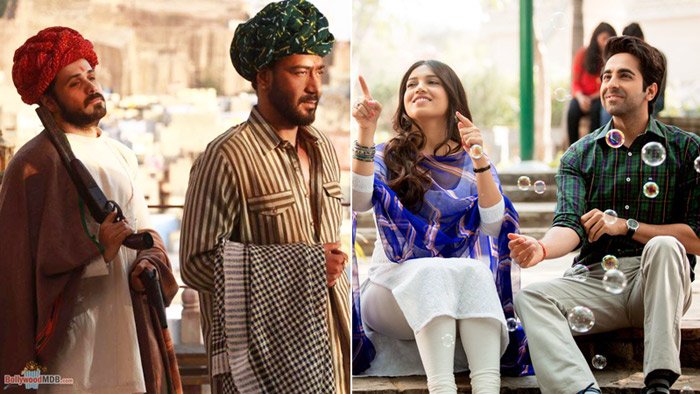 Baadshaho & Shubh Mangal Saavdhan 1st Weekend Box-office Triumph!