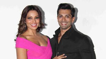Bipasha Basu, Karan Singh Grover give out wedding invites