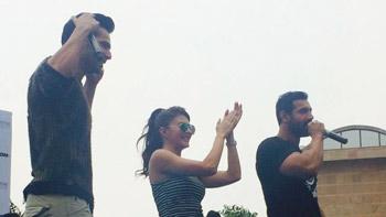 Checkout Exclusive Stills & Video: Dishoom Stars In Delhi!