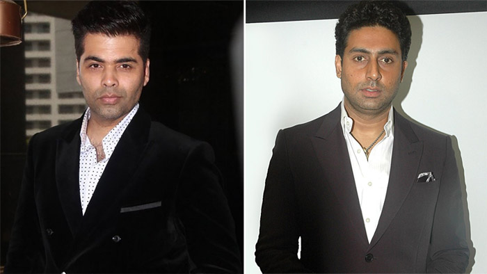Is Karan Johar planning a film for good friend Abhishek Bachchan?