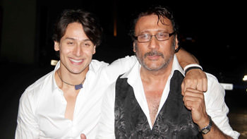 """Jackie Shroff """"doesn't look 60"""" claims Tiger Shroff"""