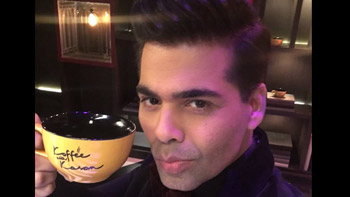 Karan Johar begins shooting for Koffee With Karan