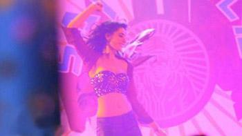 Nargis Fakhri snapped on the sets of Banjo