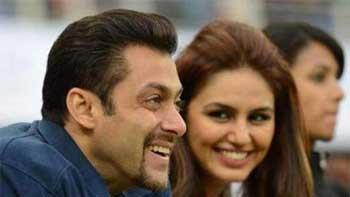 Salman Khan sends Being Human goodies to Huma Qureshi