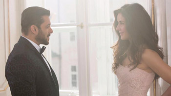 Salman Khan shares a snap with Katrina Kaif as they team up for Tiger Zinda Hai!