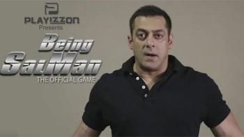 Salman Khan unleashes his own game 'Being Salman'