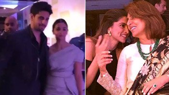 Siddharth and Alia go hand-in-hand & Deepika unites with Ranbir's mother Neetu Kapoor. Lot more happened at HT Most Stylish Awards 2017
