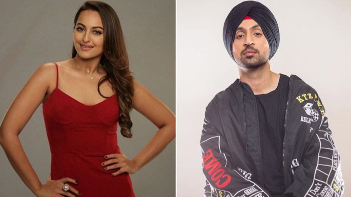 Sonakshi Sinha & Diljit Dosanjh's next titled 'Golmaal In New York'!