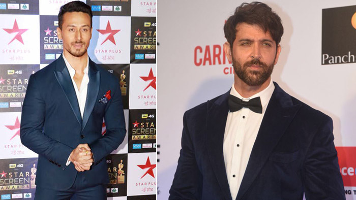 Tiger Shroff believes he stands nowhere near to Hrithik Roshan!
