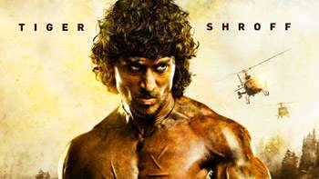 Tiger Shroff's first look poster of Rambo is feisty, gritty and engrossing!