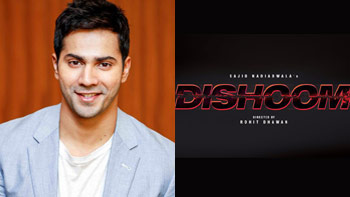 Varun Dhawan unveils the official logo of Dishoom