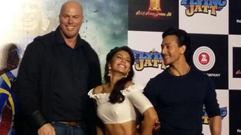View latest pics & video: A Flying Jatt Trailer Launch