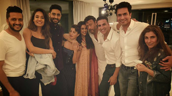 View Pic: Housefull 3 Gang Gate-crashes Asin's New Home In Delhi!
