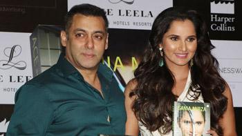 View Pics: Salman Khan launches Sania Mirza's Book in Mumbai