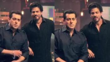 Watch video: SRK pulls Salman's legs as he fails at Raees dialogues in Bigg Boss Teaser!