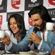 Ranveer Singh & Sonakshi Sinha at the promotion of 'LOOTERA'