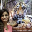 Dia Mirza at the launch of LEAVE ME ALONE Campaign for Tiger Protection
