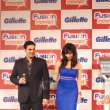Famous celebrities launched the Gillette Fusion Power