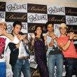 Richa Chadda with film 'FUKREY' team at FUKRA Party celebrating success of 2nd division students at Baroke in Mumbai