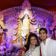 Kajol & Rani Mukherjee at North Bombay Sarbojanin Durga Puja celebrations