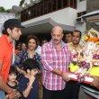 Hrithik Roshan & Shilpa Shetty at their Ganpati Visarjan