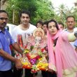 Bolly Celebs at their Ganesh Idol immersion procession