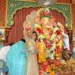 Priyanka Chopra visits Andhericha Raja Ganesh Pandal  with Darshan Kumaar