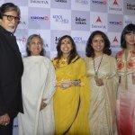 Amitabh Bachchan and Jaya Bachchan reached Delhi for special screening of 'Margarita With a Straw'
