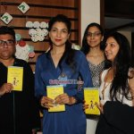 Tara Sharma and Perizaad Zorabian at the Book Reading Session and Book Launch