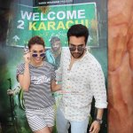 Jackky Bhagnani and Lauren Gottlieb Promote Film 'Welcome 2 Karachi'
